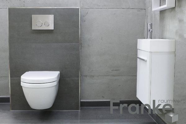klein und fein mit besonderm industrieflair die neue betonoptik f r ihr g ste wc http www. Black Bedroom Furniture Sets. Home Design Ideas