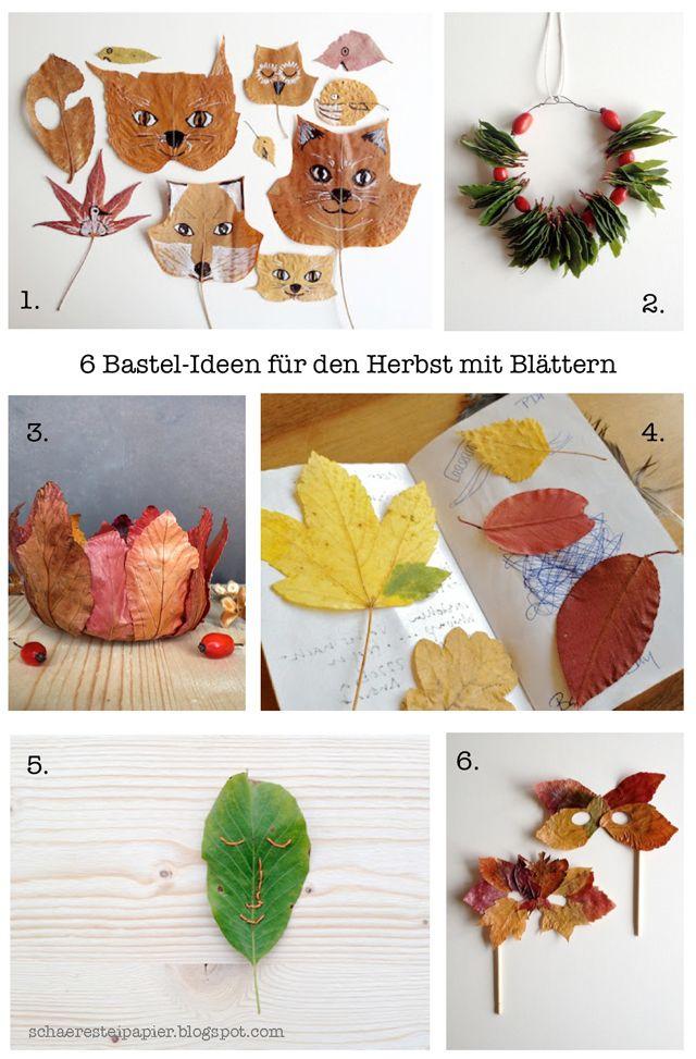 Oltre 25 fantastiche idee su basteln im herbst su for Herbst im kindergarten