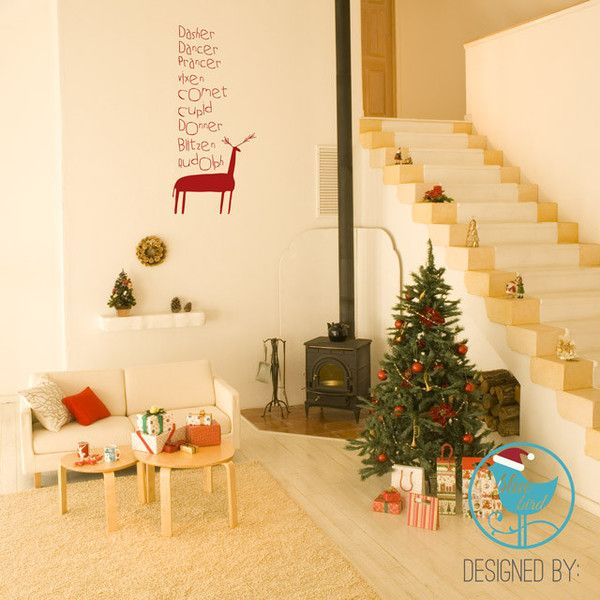 Fine Christmas Wall Decorations Pinterest Image Collection - Wall ...