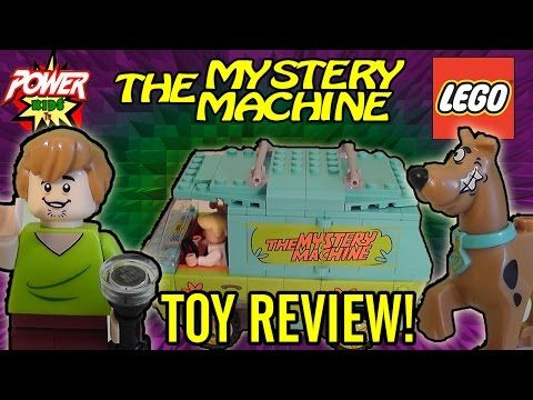 Scooby Doo Lego Mystery Machine Toy Review by Power Kids TV - YouTube