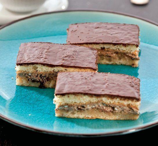 Čokoládové rezy s penou | Recepty.sk