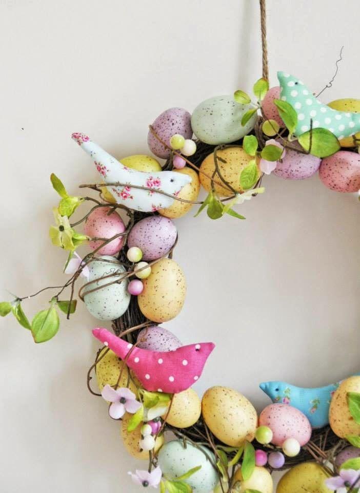 VIDÉKI PORTA: Tavaszi, húsvéti koszorúk