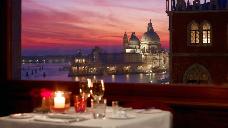 Restaurant Terrazza Danieli  Here's a view you could put up with!!!