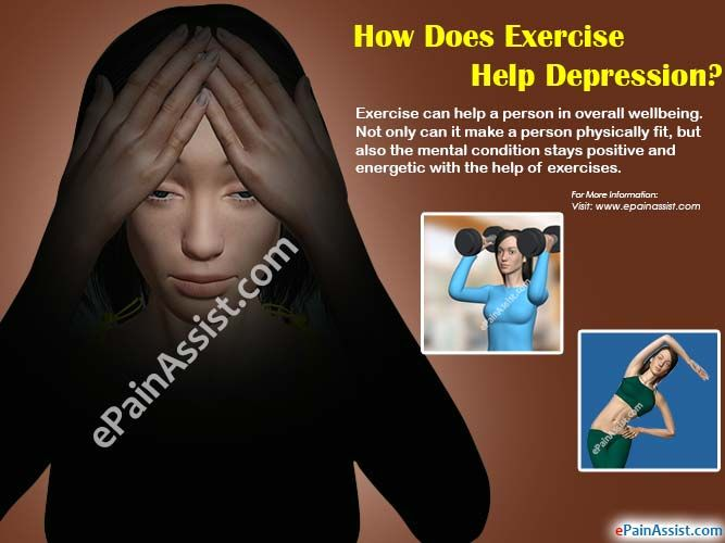How Does Exercise Help Depression