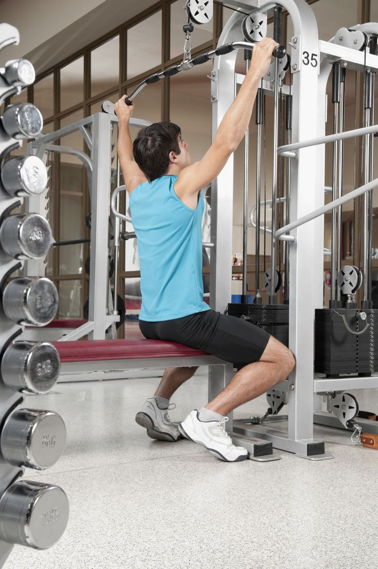 Are you doing safe effective lat pulldowns at the gym
