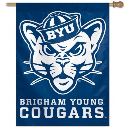 BYU Brigham Young University Flag Throwback House Flag Banner, Multicolor