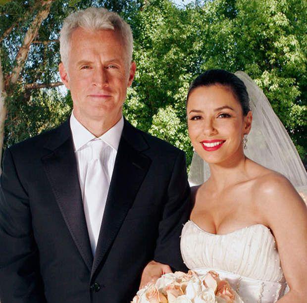 Desperate Housewives : il y a d'abord eu le mariage de Gabrielle (Eva Longoria) et Victor (John Slattery)...