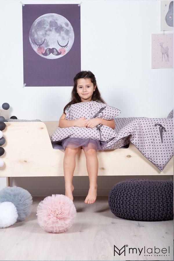 Pościel dla dzieci,pompony My Label, baby's room, enfant chambre, kids room, tulle pompon, pompony tiulowe