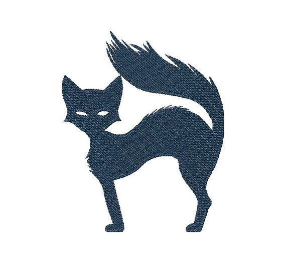 Cat - Machine Embroidery Design - Instant Download - Three sizes