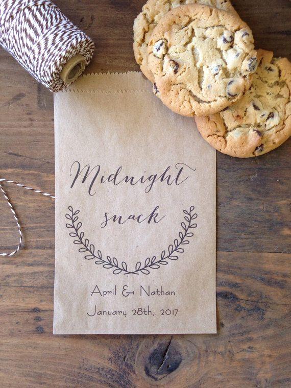 Bruiloft Cookie tassen Candy Buffet zakken door DetailsonDemand