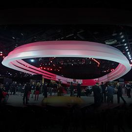 Ramboll designs 110ft cantilevering Halo for Nissan Motors - Ramboll UK Limited