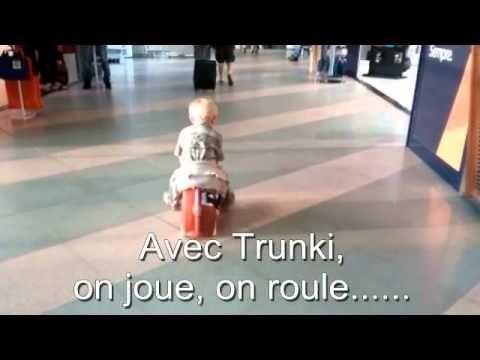 La valise Trunki voyage avec mes enfants | VOYAGES ET ENFANTS