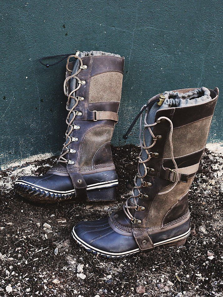 Sorel Conquest Carly Weather Boot at Free People Clothing Boutique