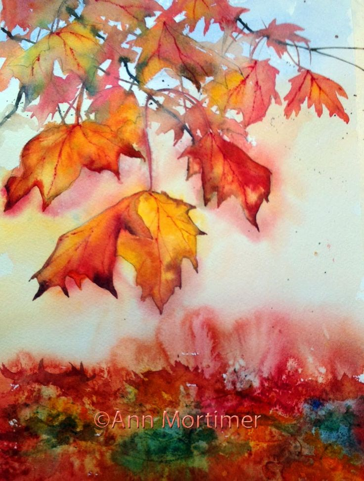 372 best Trees images on Pinterest | Watercolor trees, Watercolor ...