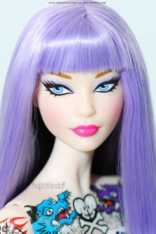 Toki Doki Barbie Doll 2015 Make Up Tokidoki Pinterest