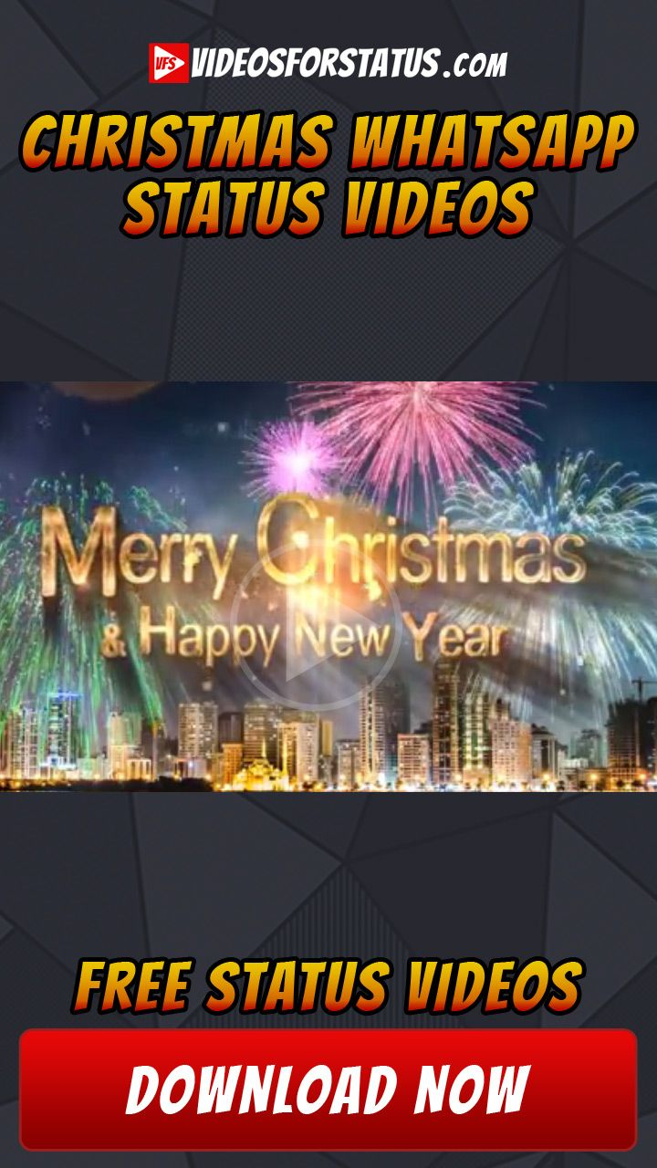 Merry Christmas Status Video For Whatsapp Merry Christmas Status Christmas Status Merry Christmas And Happy New Year