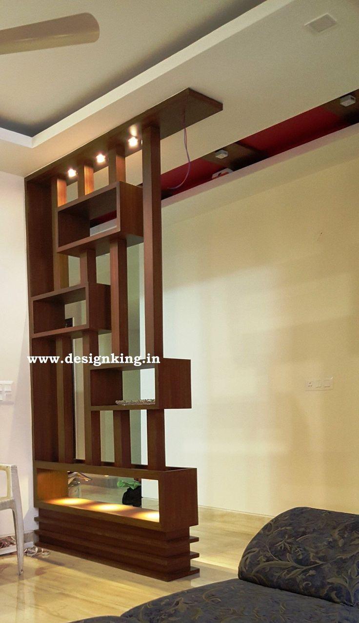 Living Room Partition Design