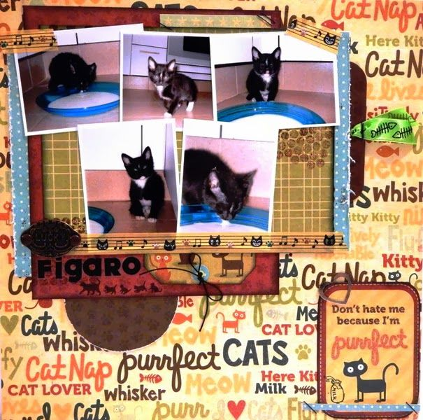 "Scrapbook Layout Con WRMK ""Friends Furever"""