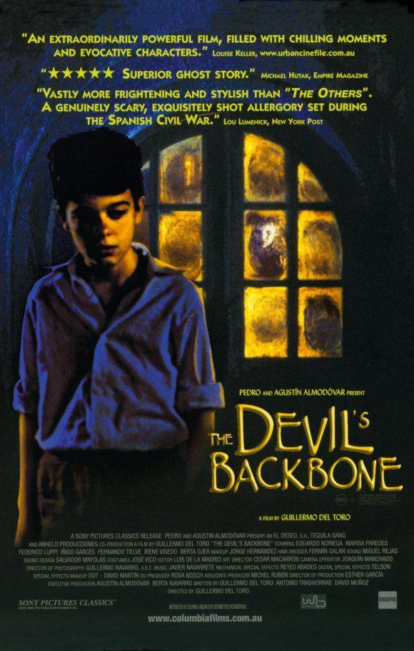 """""""The Devil's Backbone"""" AKA """"El Espinazo del Diablo"""" > 2001 > Directed by: Guillermo del Toro > Supernatural Horror / Drama / Horror / Thriller / Supernatural Thriller / Haunted House Film / Period Film / Gothic Film"""