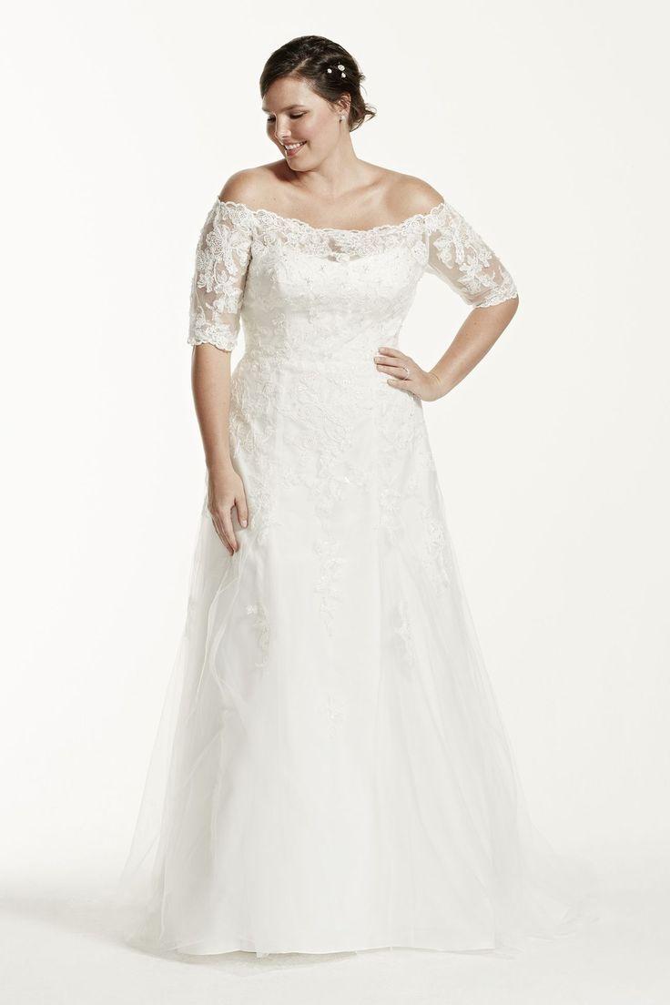 615 best Plus Size Brautmode images on Pinterest | Short wedding ...