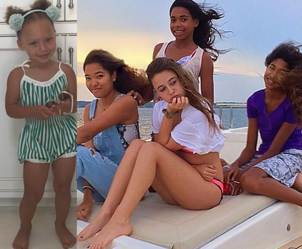 Riley Curry Whips And Nae Naes For Her Third Birthday + Ming And Aoki Lee Simmons' Weekend In The Hamptons With Friends + North West Eating Chocolate