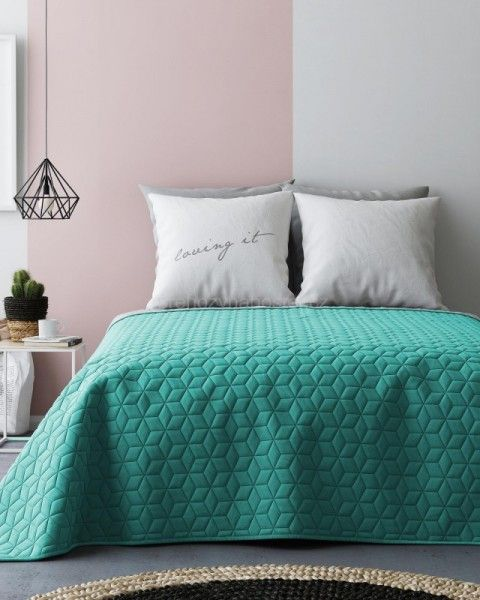 zeleno-sive-obojstranne-potahy-na-postel