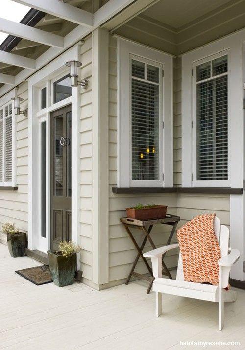 1 house, 4 ways: exterior   Habitat by Resene