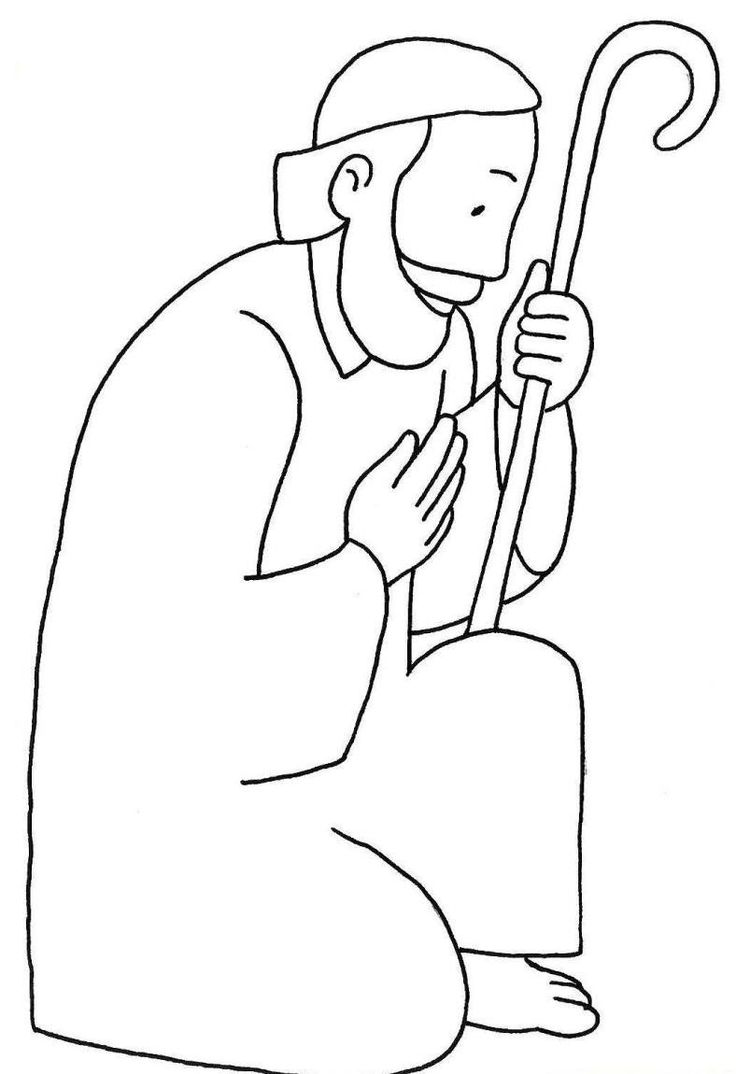 Coloring sheet mary and joseph bethlehem - Coloring Picture Of St