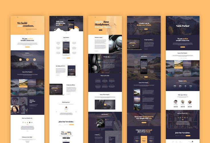 Trio UI Kit for Adobe XD by Nick Parker on @creativemarket