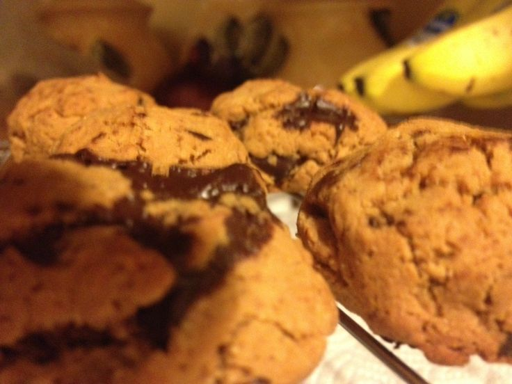 Paleo Coconut Flour and Arrowroot Flour Cookies with 85% cacao chocolate chips and coconut sugar. Low Glycemic Index!!