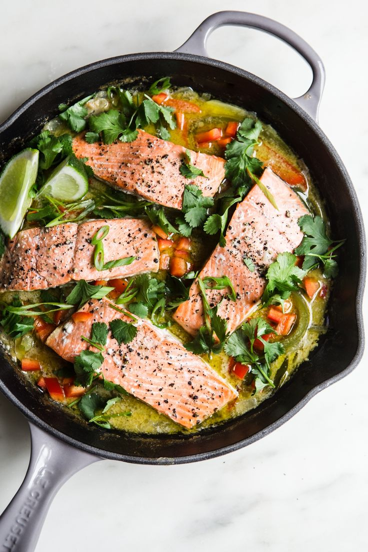 Green Curry Salmon