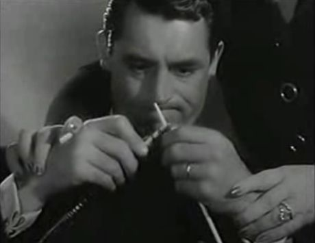 Mr Lucky - Cary Grant knitting by sleevehead, via Flickr