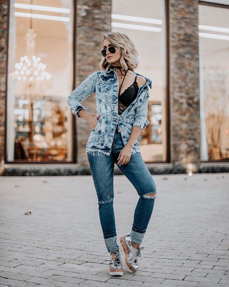 "4,038 curtidas, 27 comentários - Micheli Fernandes (@micheli_fernandes) no Instagram: ""all jeans @alcancejeans ⚡️ marca que tem os jeans que me identifico muito, vestem tão bem. | ph…"""