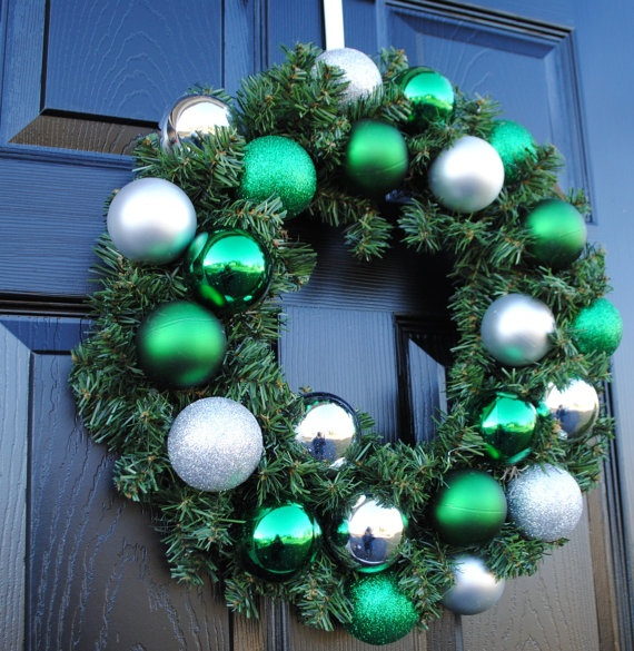Christmas Wreath Holiday Wreath Xmas Wreath by Casabellawreaths, $50.00