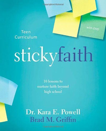 Sticky Faith Teen Curriculum with DVD: 10 Lessons to Nurture Faith Beyond High School by Kara E. Powell,http://www.amazon.com/dp/031088926X/ref=cm_sw_r_pi_dp_0Sgxtb0KK4T8R65H