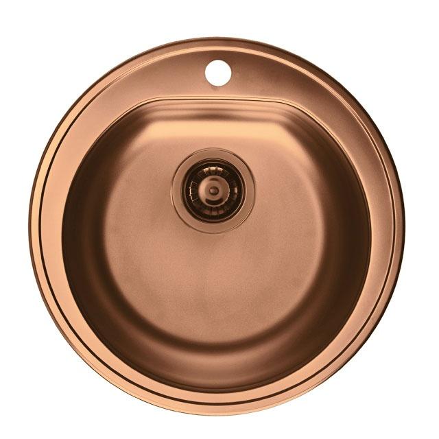 Copper Copper & Copper Sink by Alveus