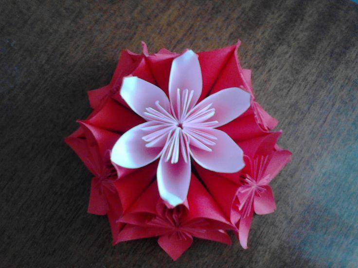 Floraria handmade ... cu flori din hartie: Aranjament flori handmade din hartie