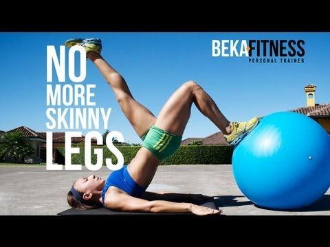 No more Skinny Legs- Best Leg workout for gain muscle mass - YouTube