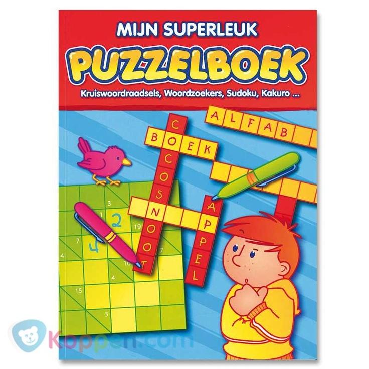 Mijn superleuk puzzelboek. Mijn superleuk puzzelboek. Met leuke kruiswoordraadsels, woordzoekers, sudoko en kakuro. http://www.koppen.com/producten/categorie/creatief-educatief/sub-categorie/leer-speelboeken/geslacht/jongen/leeftijd/vanaf-3-jaar/materiaal/karton/merk/boekspecials/aanbieding/all/prijs/-2,00-3,00/product/08006# Prijs: € 2,89