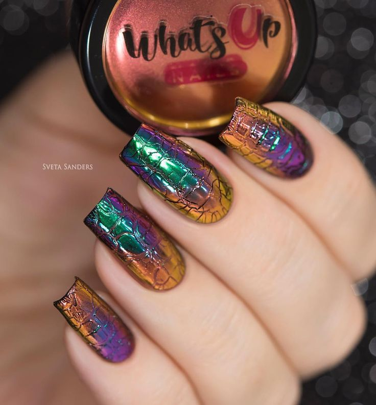 you meet someone who iridescent nail