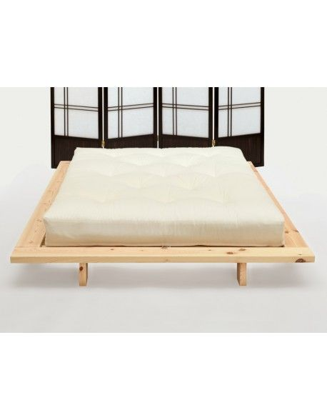 The classic style Japanese bed set with strong redwood pine frame and a choice of tatami mats and futon mattress all with UK wide delivery.