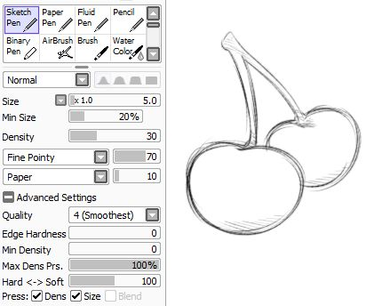 39 best ART: Paint Tool Sai Brush Settings images on