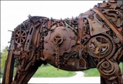 Steampunk Horse #steampunk - ☮k☮