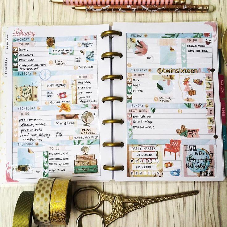 See this Instagram post by @twinsixteen #plannercommunity #minihappyplanner #plannerstickers #planneraddict