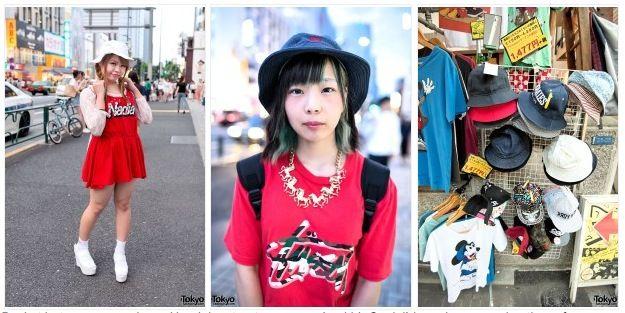 10 tendencias de moda callejera japonesa del verano de 2014