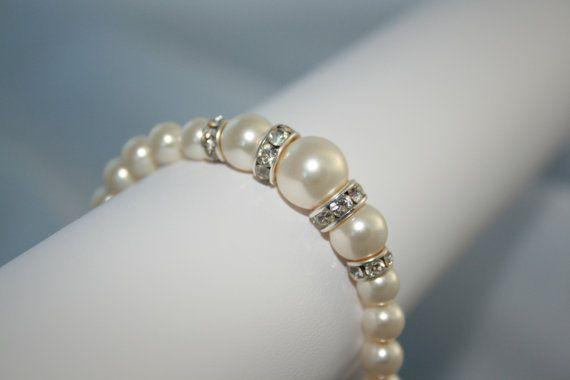 Handmade 'Farah' Swarovski Crystal Pearl by LHadyoonJewellery, £17.00
