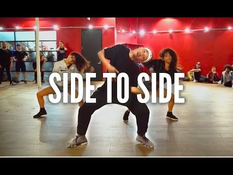ARIANA GRANDE - Side To Side ft. Nicki Minaj | Kyle Hanagami Choreography - YouTube