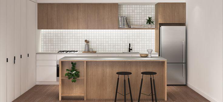 halcyon brunswick east off the plan apartment development modern stunning kitchen