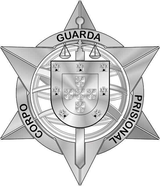 Crachá do Corpo da Guarda Prisional