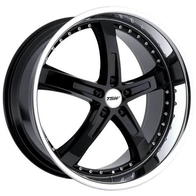 GetYourWheels.com: TSW Wheels TSW Jarama Gloss Black with Mirror Lip Wheels : Wheel and Tire Packages|Staggered Wheels|Custom Wheels|Luxury Rims